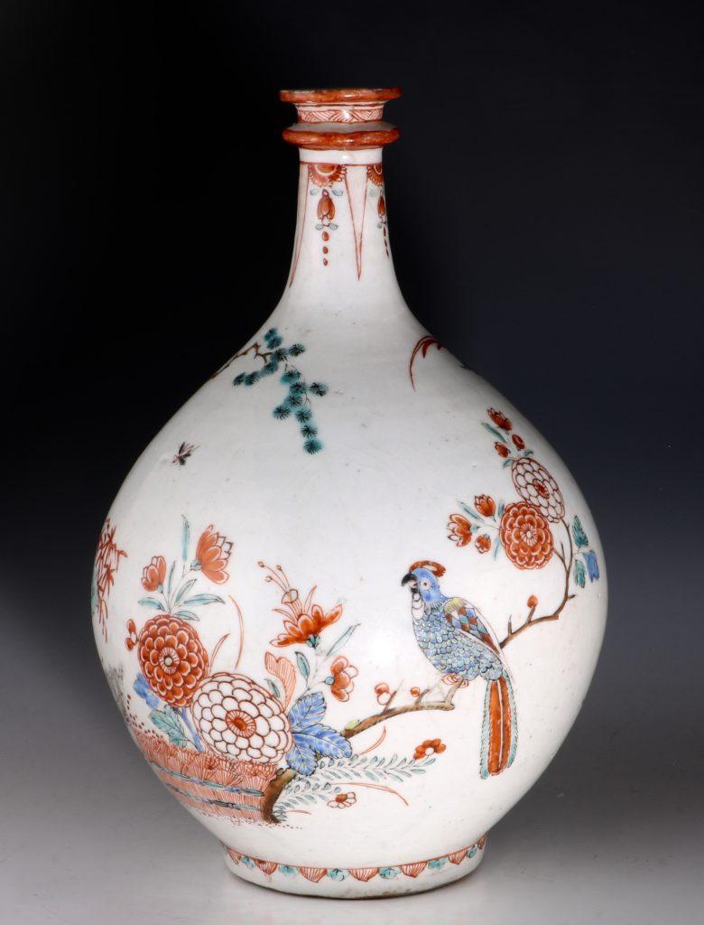 Dutch Decorated Japanese Arita Apothecary Bottle 17/18thC 2