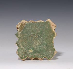 Medieval Green Glazed Tile C14thC