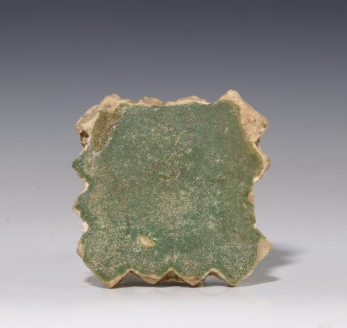 Medieval Green Glazed Tile C14thC