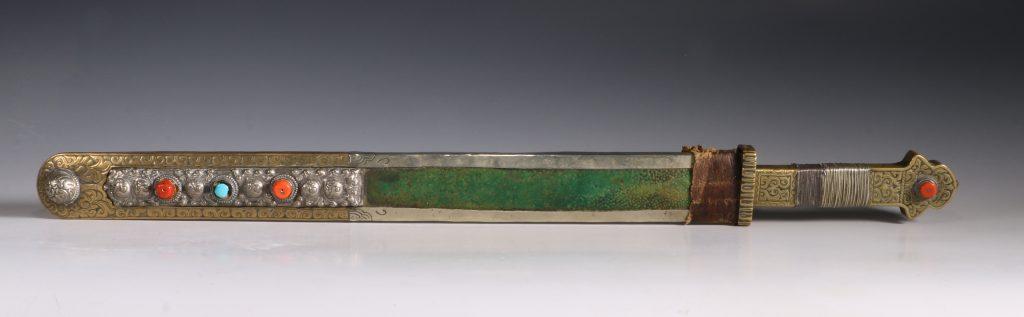 Tibetan Short Sword 18th-19thC 4
