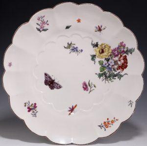 Chelsea Red Anchor Dish C1752/54