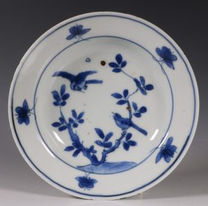 A Late Ming Blue and White Dish C1620/1630