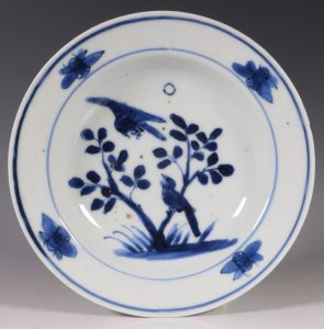 A Late Ming Blue and White Dish C1620/30