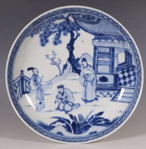 Chinese Blue and White Saucer Dish Yongzheng C1722/30