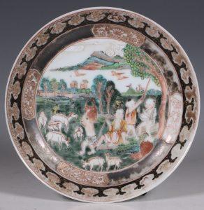 A Famille Rose Saucer Yongzheng C1722/36