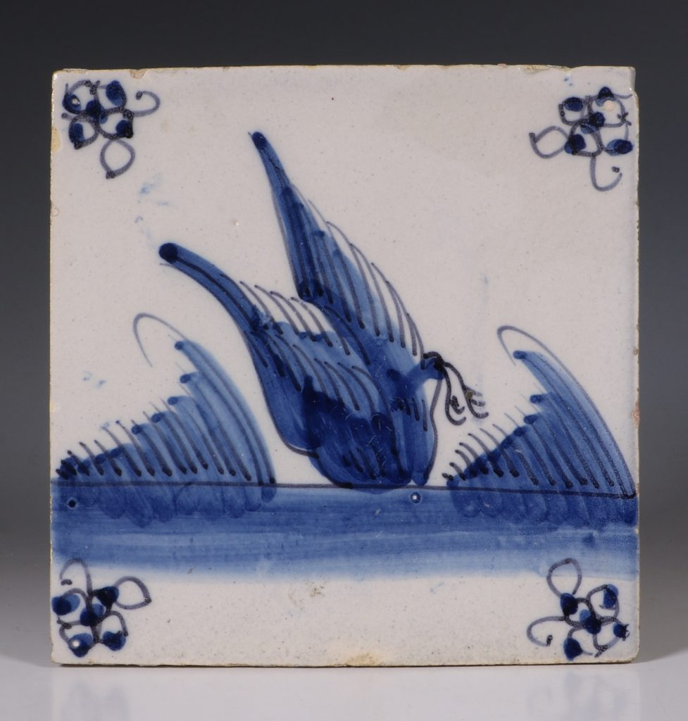 Dutch Delft Tile 18thC