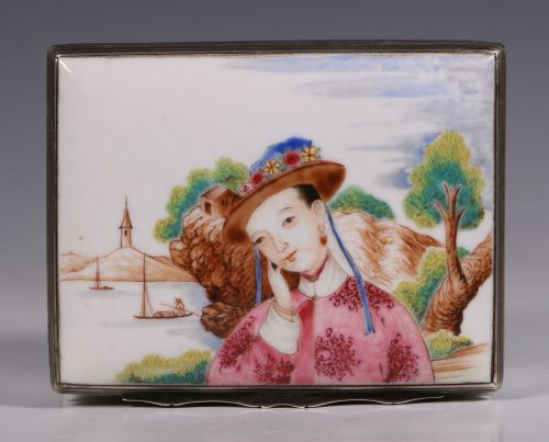 Fine Famille Rose Snuff Box Qianlong C1736/96