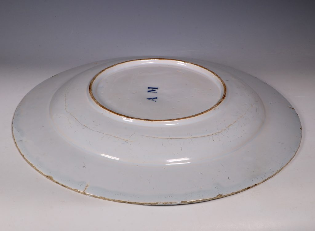 English Delft A M Charger C1760 3