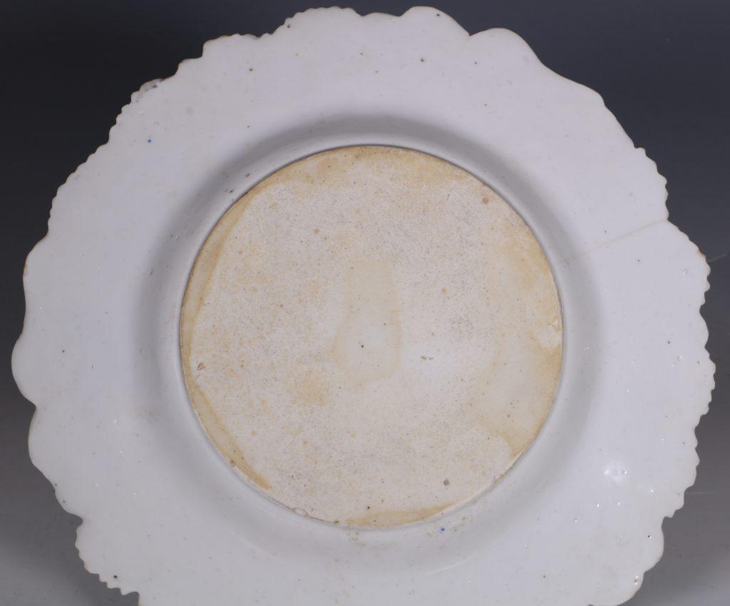 Longton Hall Strawberry Leaf Dish C1755 5