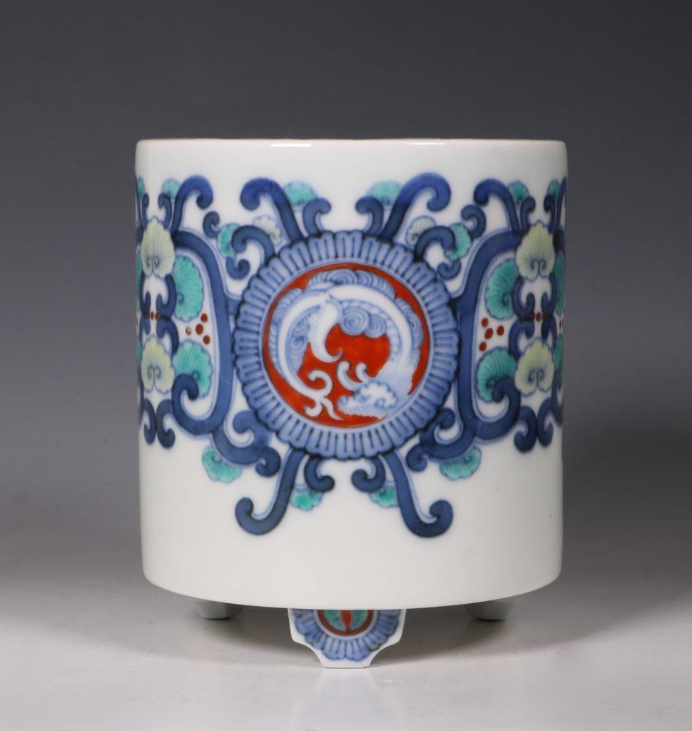 Koransha Porcelain Koro L19thC