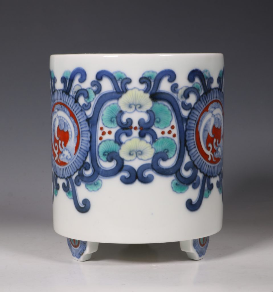 Koransha Porcelain Koro L19thC 1