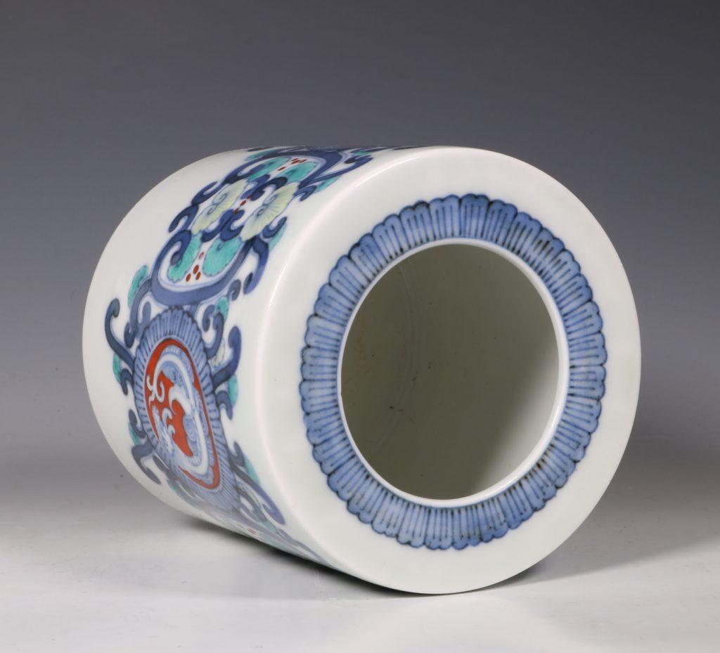 Koransha Porcelain Koro L19thC 2