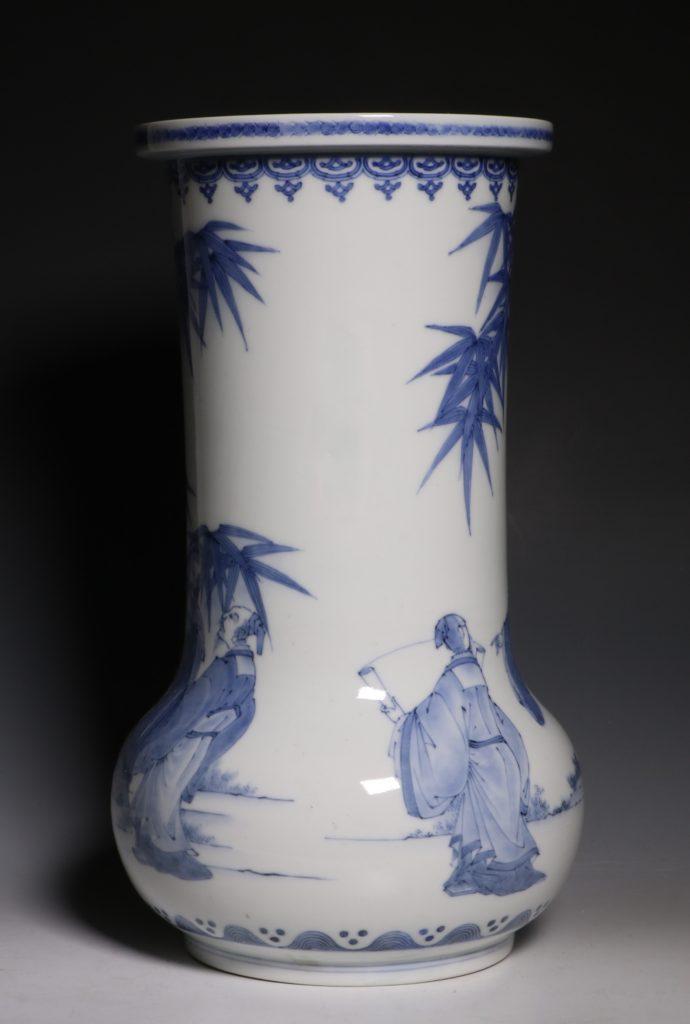 A Hirado Vase 19thC 1