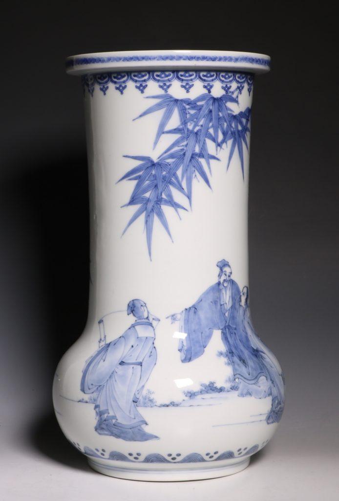 A Hirado Vase 19thC 3