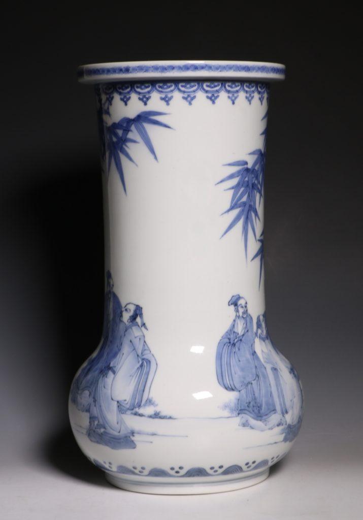 A Hirado Vase 19thC 4