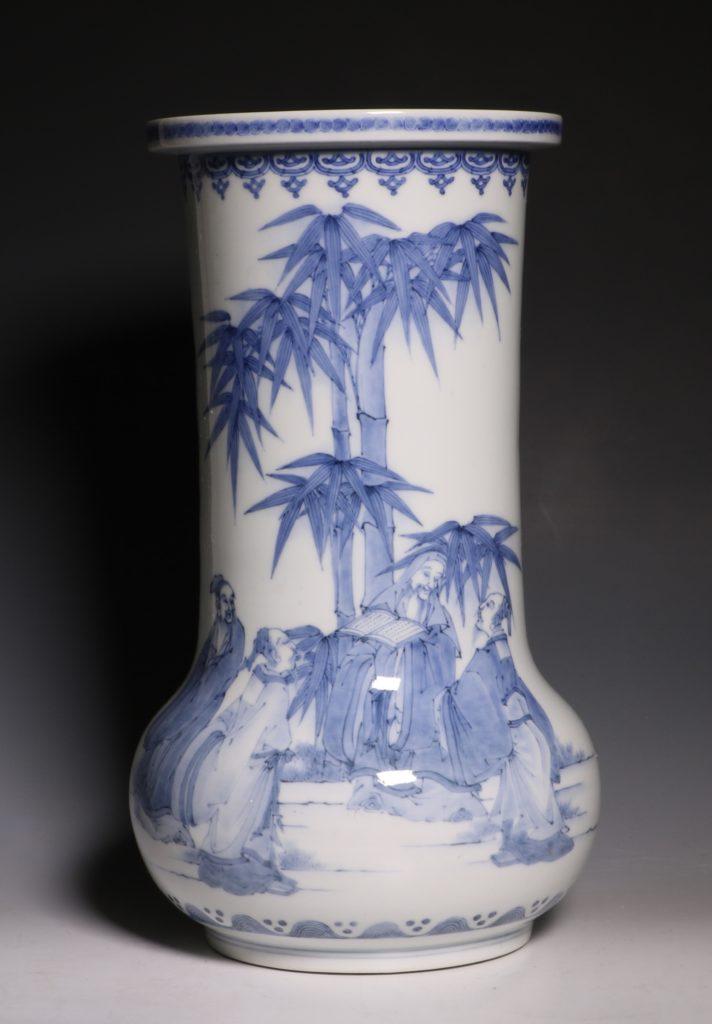 A Hirado Vase 19thC 6