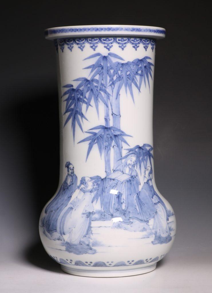 A Hirado Vase 19thC 7