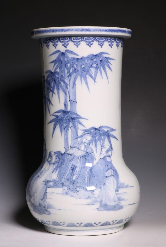 A Hirado Vase 19thC 9
