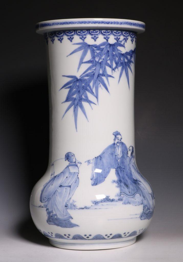 A Hirado Vase 19thC 11