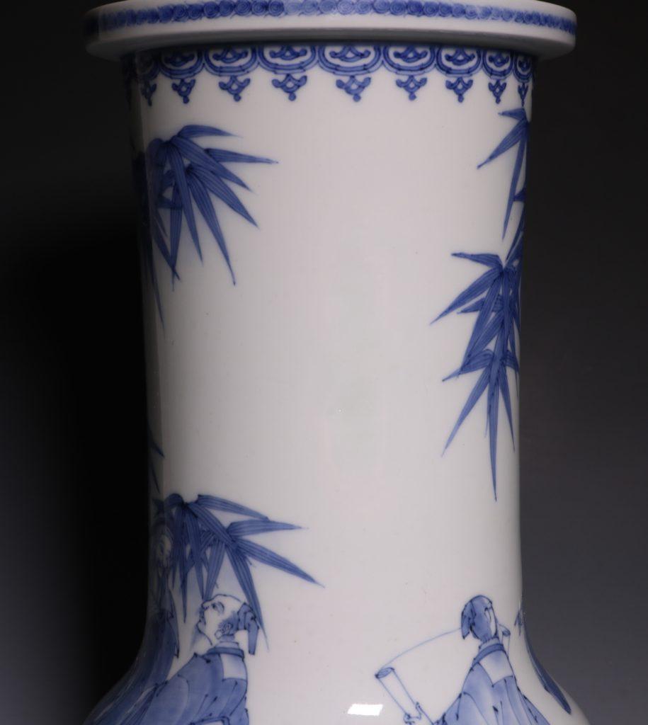 A Hirado Vase 19thC 12