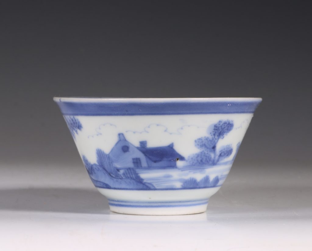 An Arita Blue and White Cup C1700
