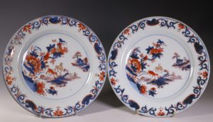 A Set of Four Chinese Imari Plates C1740
