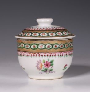 Chinese Export Covered Bowl L18thC
