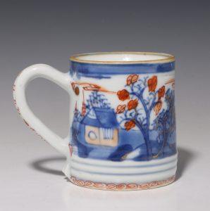 Chinese Imari Coffee Can C1720/40
