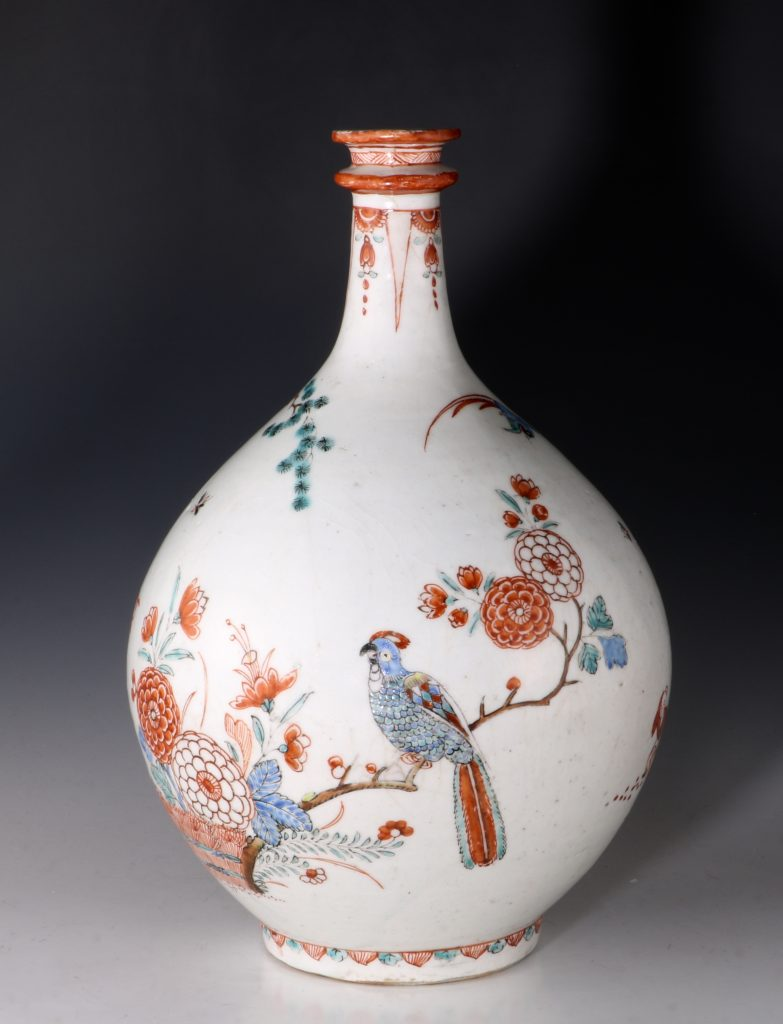 Dutch Decorated Japanese Arita Apothecary Bottle 17/18thC 1