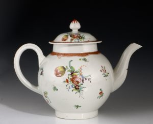 Liverpool Polychrome Teapot and Cover John and Beth Pennington C1785