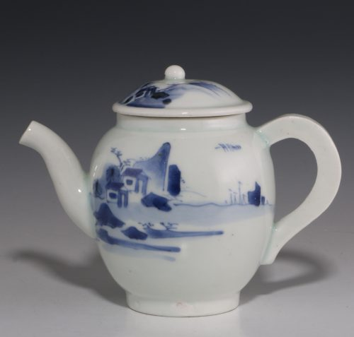 Japanese Arita Blue and White Teapot L17thC