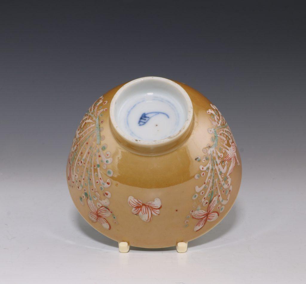 London Decorated Kangxi Teabowl C1690/1710 5