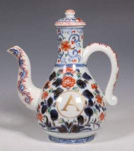 An Imari Ewer and Cover E18thC
