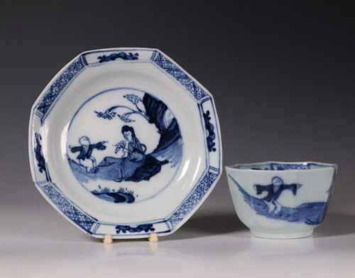Chaffers Cup and Saucer C1758/60