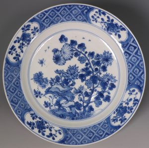 Kangxi Blue and White Plate L17thC
