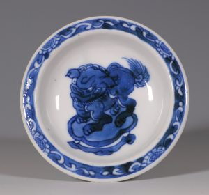 Kangxi Blue and White Salt C1700