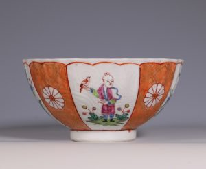 James Giles Decorated Chinese Porcelain Bowl C1765/70