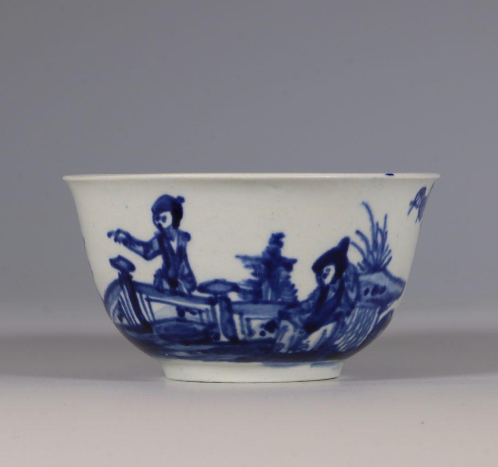 Vauxhall Tea Bowl and Saucer C1755/58 3