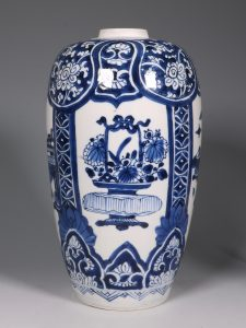 Kangxi Blue and White Ovoid Vase 17/18thC