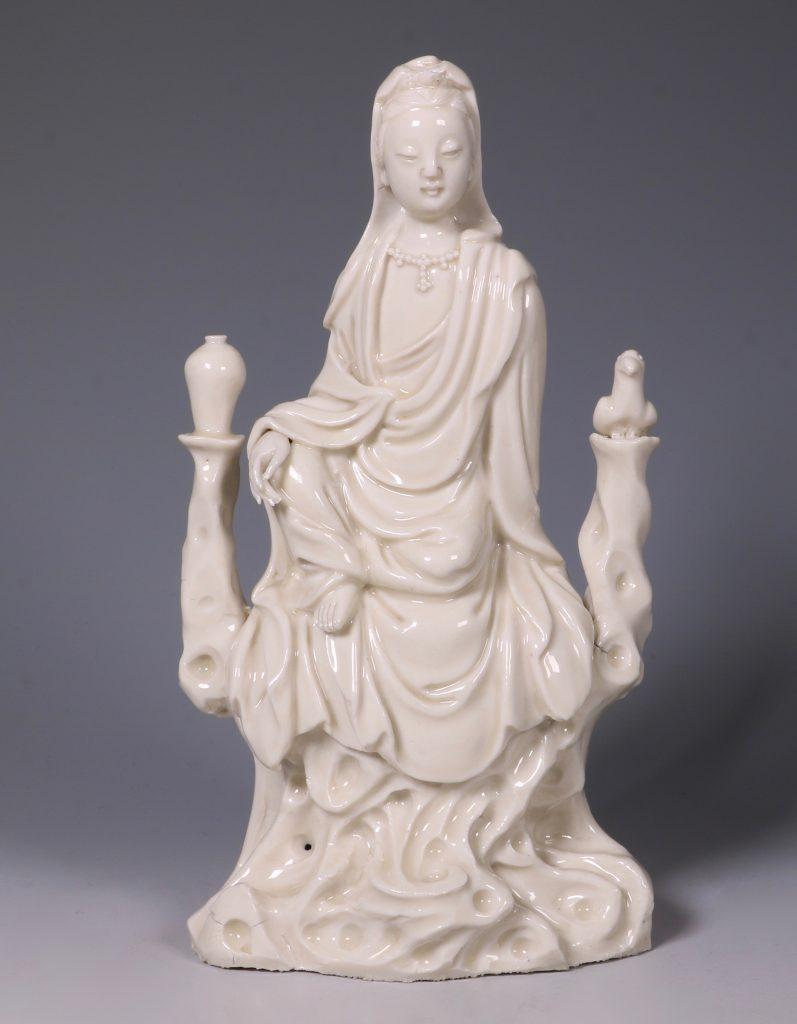 A Blanc de Chine Guanyin 17thC