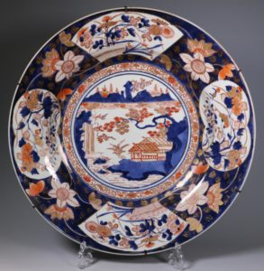 Pair of Japanese Imari Chargers L17thC
