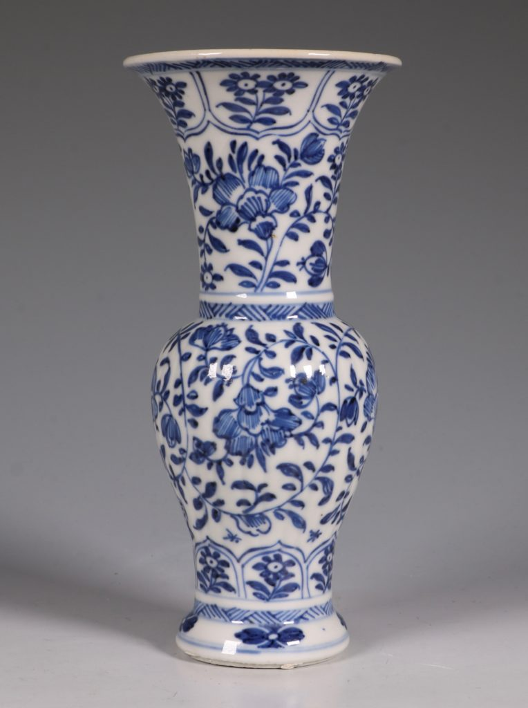 Blue and White Small Blue and White Vase Kangxi 1
