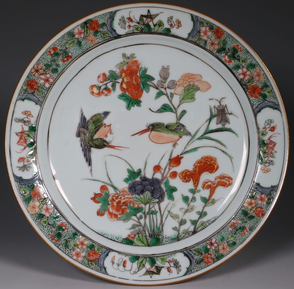 Famille Verte Plate Kangxi
