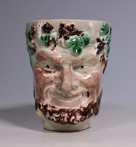 Pearlware Satyr Mug C1790