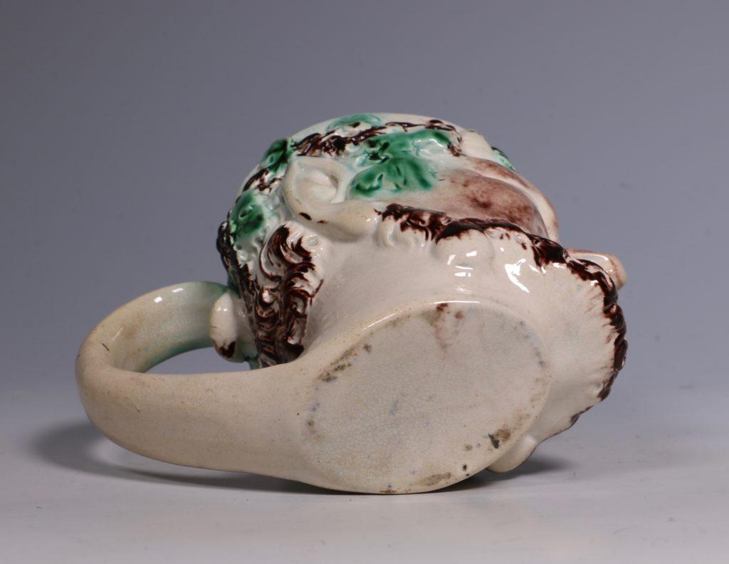 Pearlware Satyr Mug C1790 4