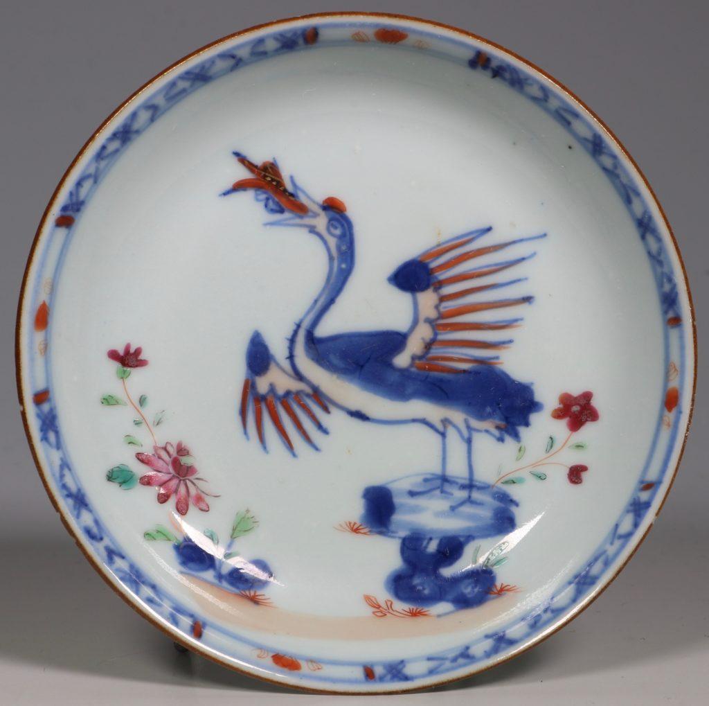 A Famille Rose Saucer Qianlong C1750/60
