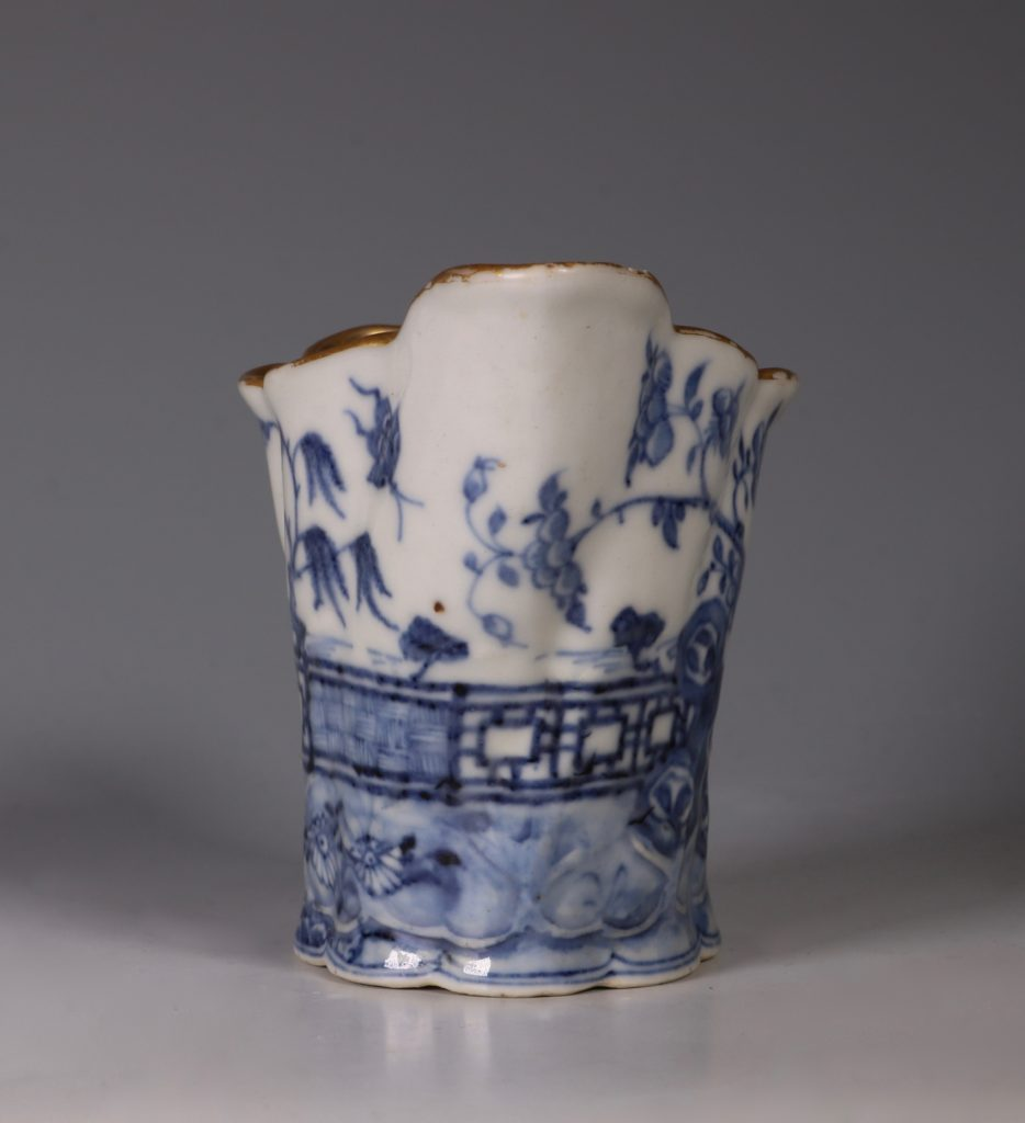 "Chinese Blue and White 'Chelsea Ewer"" Jug C1770's 1"