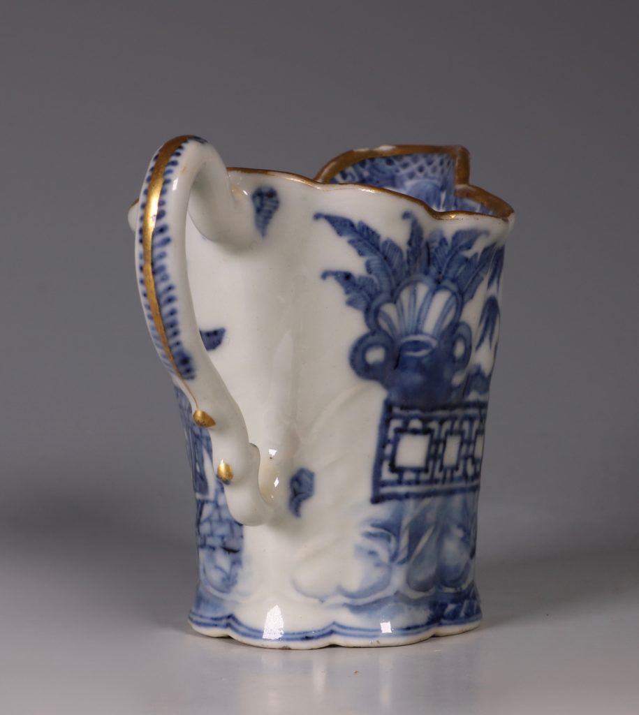 "Chinese Blue and White 'Chelsea Ewer"" Jug C1770's 3"