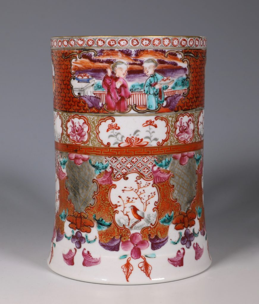 Fine Mandarin Palette Tankard C1775 1