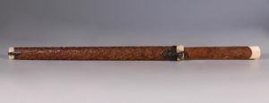 Chinese Boxwood Trousse 18/19thC